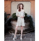 Semicouture Semicouture sequin off-shoulder dress silver