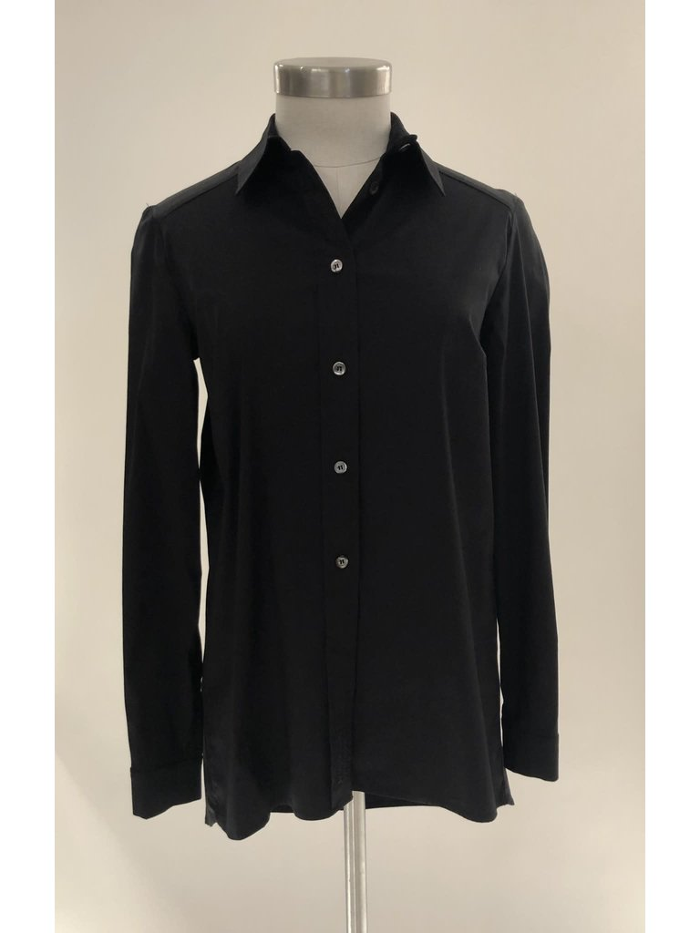 Semicouture Semicouture klassieke blouse zwart