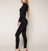 Luscious The Label Luscious The Label Tara Korsett Jogginghose schwarz