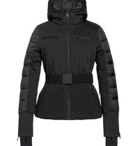 Goldbergh Goldbergh Stylish ski jas met ceintuur zwart