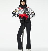 Goldbergh Goldbergh Wow Skijacke mit Pop-Art-Print mehrfarbig