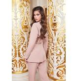 Lavish Alice Lavish Alice Ruby blazer with lace pink