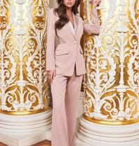 Lavish Alice Lavish Alice Ruby Holley flared trousers pink