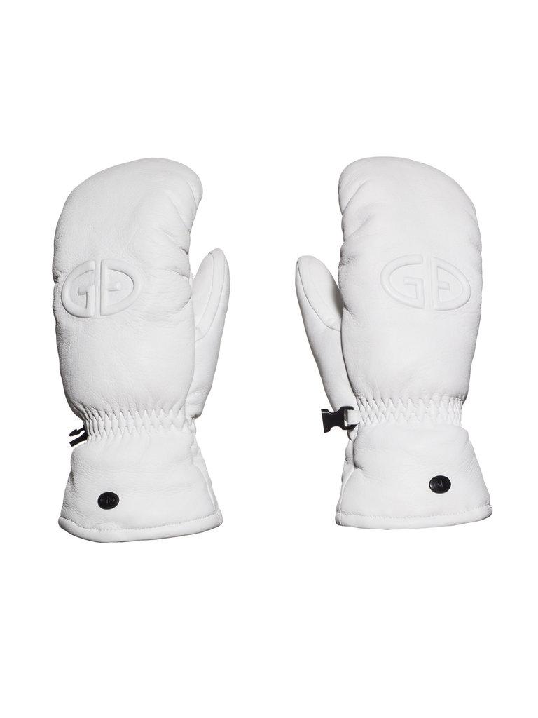 Goldbergh Goldbergh Hilja mittens white