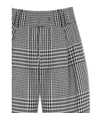Rinascimento Rinascimento pantalon met pied-a-poule print multicolor