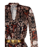 Rinascimento Rinascimento dress with black floral print