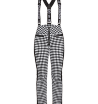Goldbergh Goldbergh Lily ski pants pied de poule print black and white