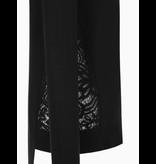 Rinascimento Rollkragenpullover von Rinascimento mit Spitzendetail in Schwarz