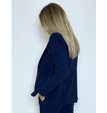 Rinascimento Rinascimento kurzer Blazer mit Knopfblau
