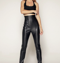Luscious The Label Luscious The Label Tammy vegane Lederhose schwarz