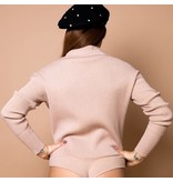 Body by Olcay Body by Olcay knitted polo body warm desert