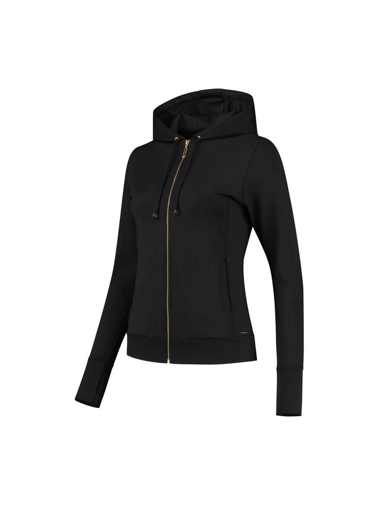 deblon sports Deblon Sports Zoe hooded vest zwart