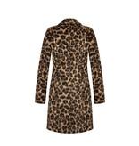 Rinascimento Rinascimento faux fur manteljas luipaardprint
