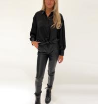 DMN Paris DMN Paris Chloe silk blouse black