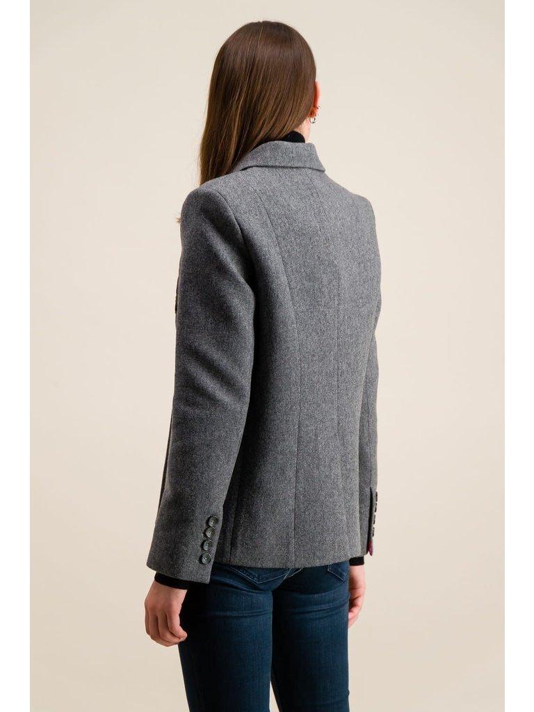 DMN Paris DMN Paris Valenciana jacket grijs