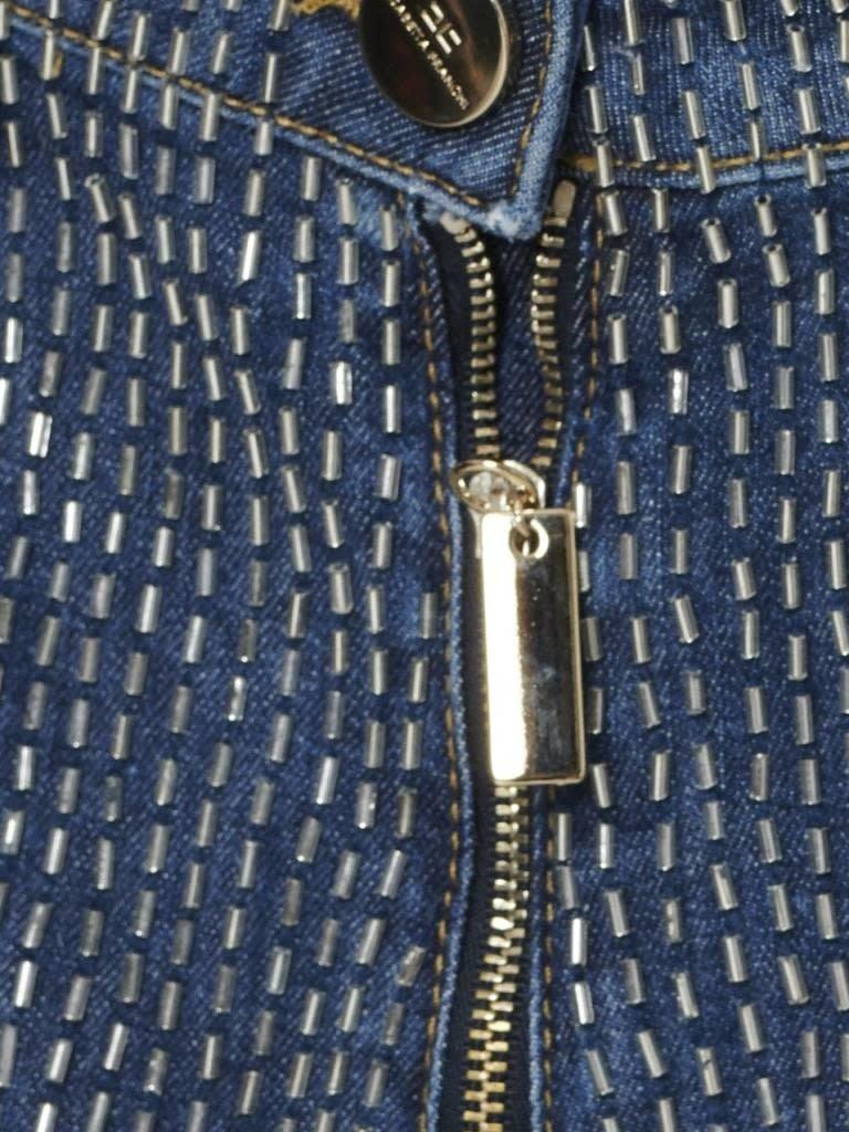 Elisabetta Franchi Elisabetta Franchi boyfriend jeans with beads