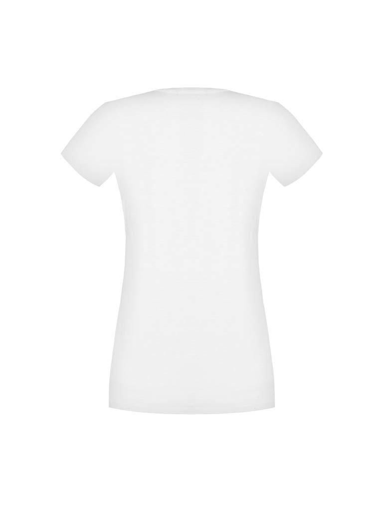 Rinascimento Rinascimento t-shirt met print wit