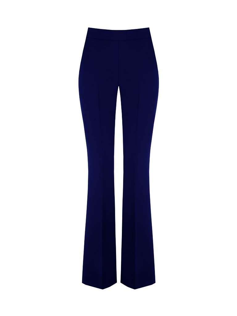 Rinascimento Rinascimento flared trousers blue