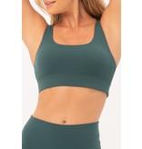 House of Gravity House of Gravity Gravity strappy bra Emerald green