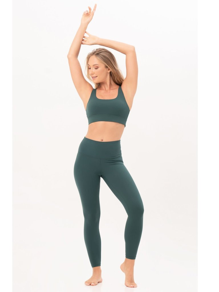 House of Gravity House of Gravity signature sportlegging emerald green