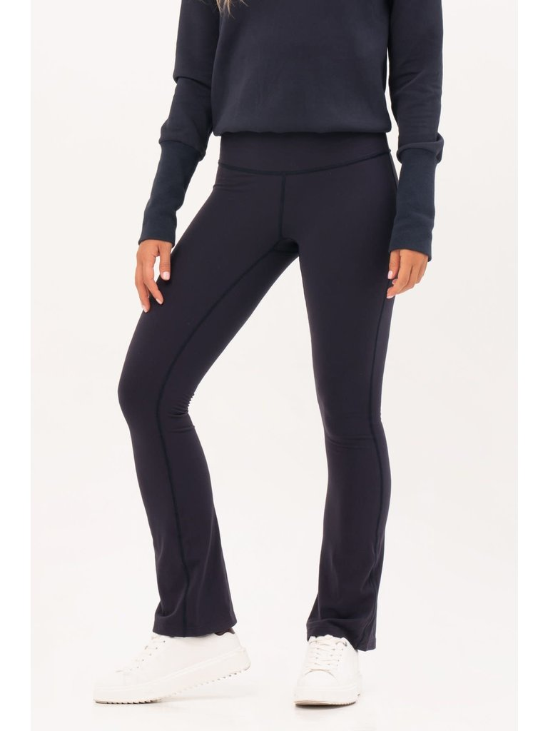 House of Gravity House of Gravity Flared broek donkerblauw