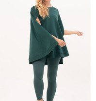 House of Gravity House of Gravity cape poncho emerald green