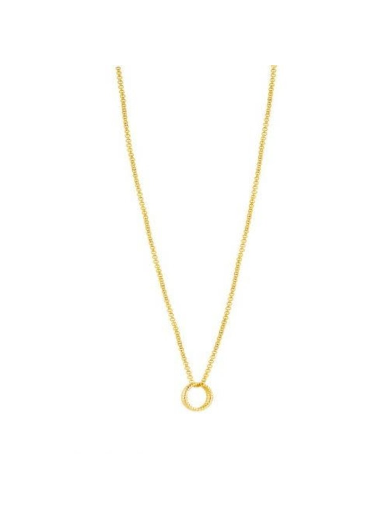 Just Franky Just Franky Vintage necklace round 39-41cm gold