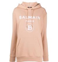 Balmain Balmain Sweater met logo beige