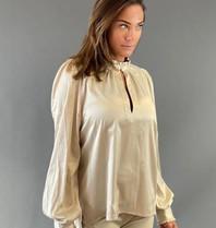 Est'seven Est'Seven Chemier Etoile blouse beige