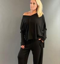 Est'seven Est'Seven Ayden Cashmere sweater black