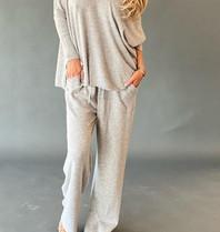 Est'seven Est'Seven Ayden cashmere jogger grey