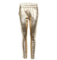 Est'seven Est'seven leather boyfriend chino gold colored