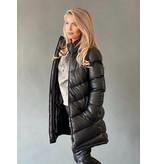 Est'seven Est'Seven Hiver jas lang zwart