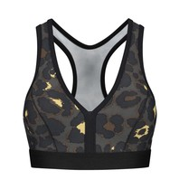 deblon sports Deblon Charly Bra  Leopard Gray