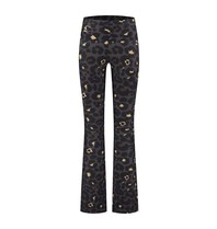 deblon sports Deblon Sports flared leggings celine leopard gray
