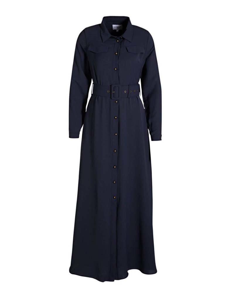 Est'seven Est'Seven Long dress dark blue