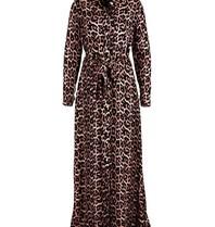 Est'seven Est'Seven Leopard fall rio maxi dress pink black