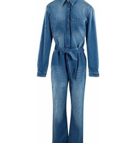 Est'seven Est'Seven Aliya denim jumpsuit blue