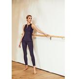 deblon sports Deblon Sports Kate Ziggy sports leggings with mesh dark blue