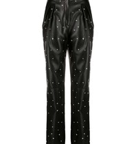 Philosophy Di Lorenzo Serafini Philosophy Di Lorenzo Serafini trousers with black rhinestones