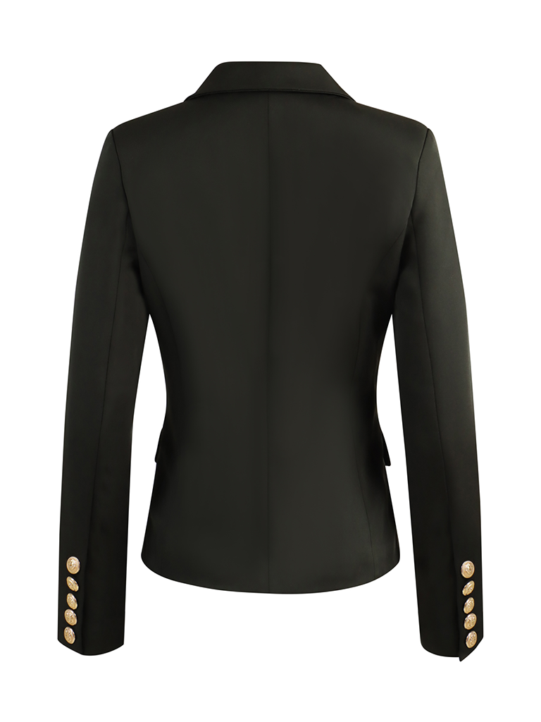 Luscious The Label Luscious the label Celine double-breasted blazer zwart
