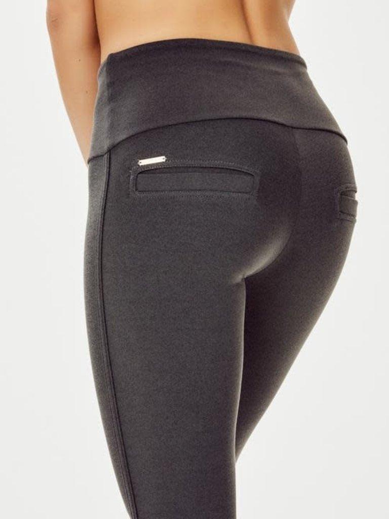deblon sports Deblon Sports Flared leggings celine grijs