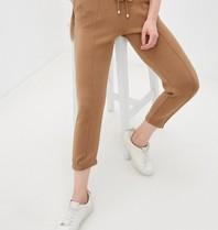 Rinascimento Rinascimento jogging pants with pleat beige