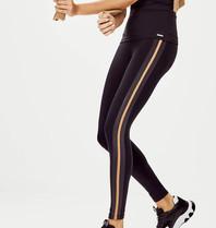 deblon sports Deblon Sports Jade leggings camel zwart shine