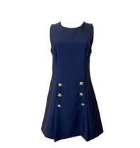 Rinascimento Rinascimento jurk met double-breasted knopen blauw