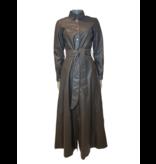 Est'seven Est'Seven button Down Dress moral gray