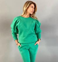Est'seven Est'Seven Vetements sweater kelly green