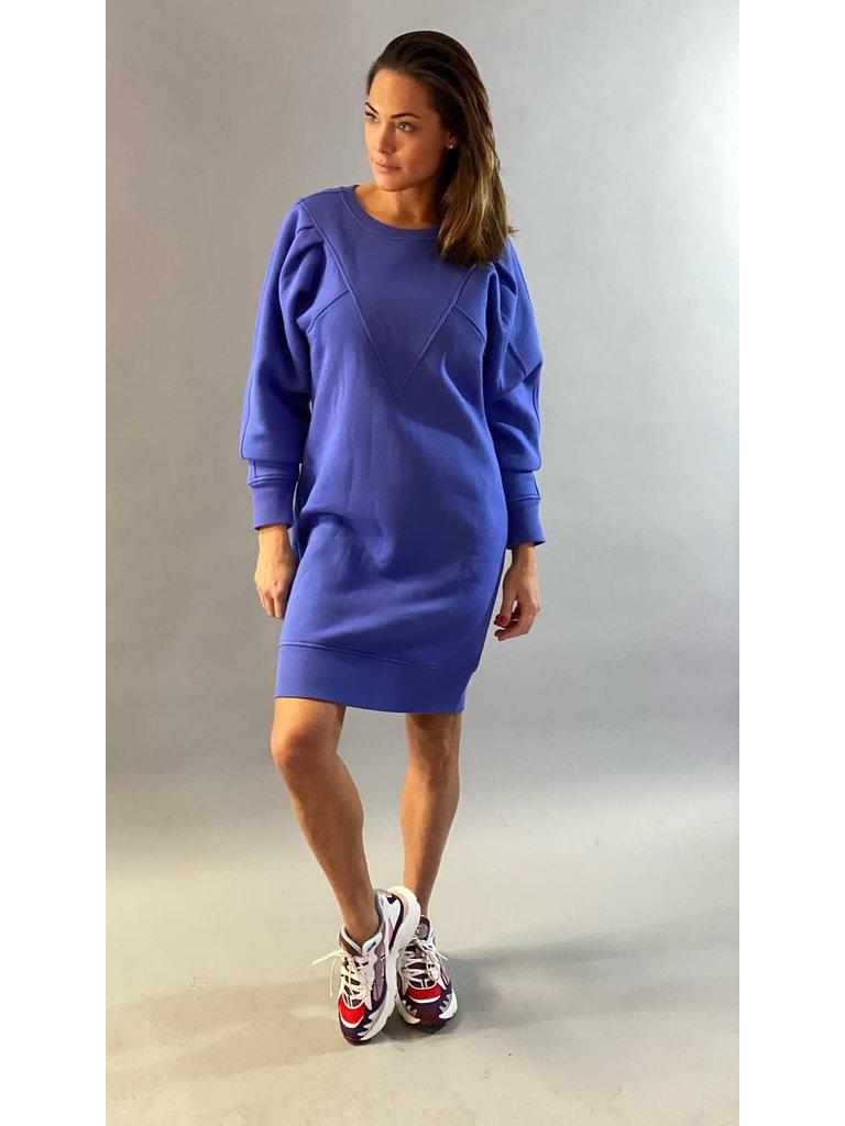 Est'seven Est'Seven Vetements V dress baja blue