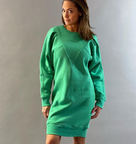 Est'seven Est'Seven Vetements V dress kelly green