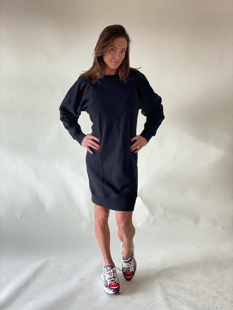 Est'seven Est'Seven Vetements V dress black